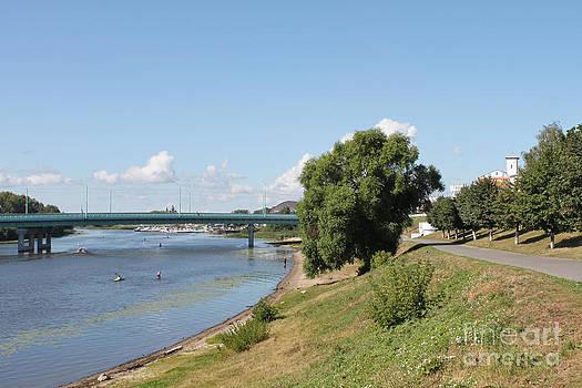 On river by Evgeny Pisarev