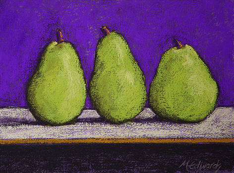 3 Pears Purple by Marna Edwards Flavell