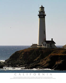 Pigeon Point Lighthouse by Kimberly Blom-Roemer