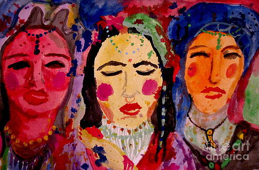 3 Queens of Color by Amy Sorrell