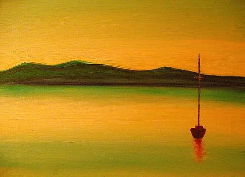 Quiet Harbor by Frank B Shaner