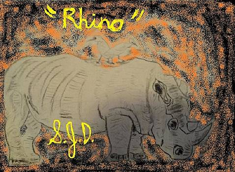 Rhino by Joe Dillon