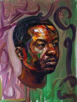 Self portrait by Edward Ofosu