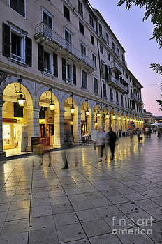 George Atsametakis - Spianada square during dusk time