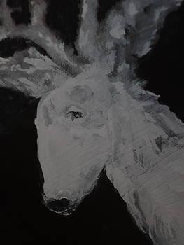 Spirit Deer by Jeannine Sandoval