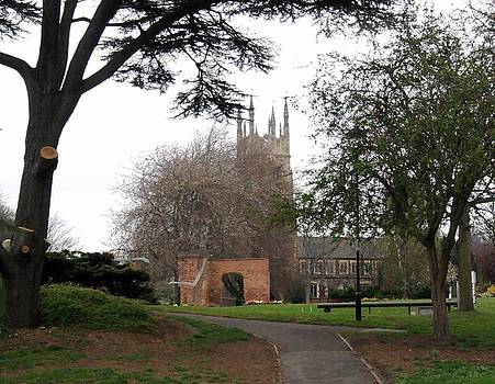 St Peters Church Stapenhill by Geoff Cooper