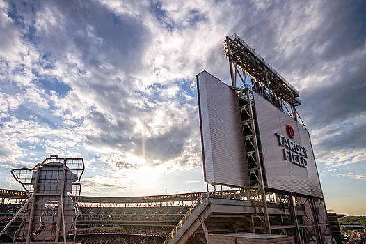 Target Field Sunset by Tom Gort
