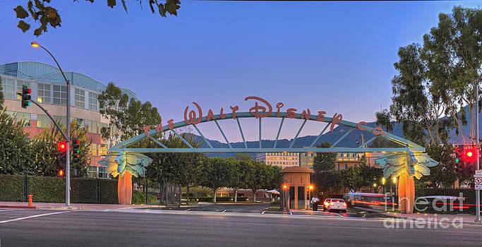 David Zanzinger - The Walt Disney Company in Burbank CA. Sunset