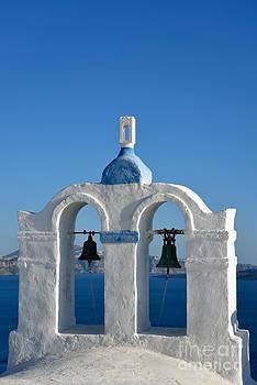 George Atsametakis - Traditional belfry in Santorini island