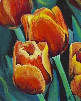 Tulips by Joyce Sherwin