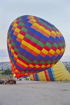 Kantilal Patel - Up she rises hot air balloon