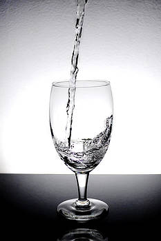 Water in a Glass by Micah Flack