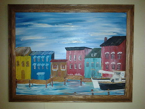 Waterfront Docking by Harold Messler