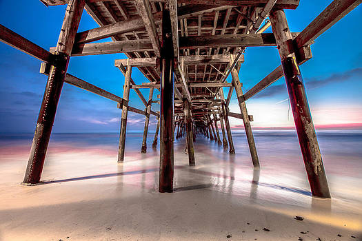 30 Seconds under San Clemente Pier by Robert  Aycock