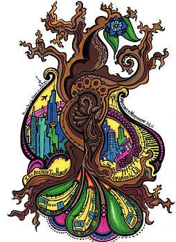 32 - Barren Tree by Maggie Nancarrow