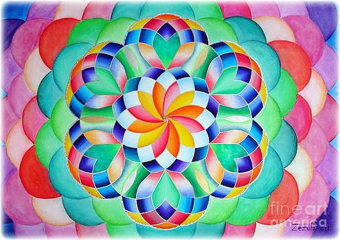 341. Mandala of Joy by Martin Zezula