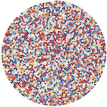 Martin Krzywinski - 3422 digits of Pi