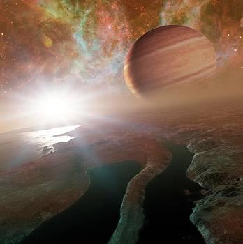 Alien Planetary System by Detlev Van Ravenswaay