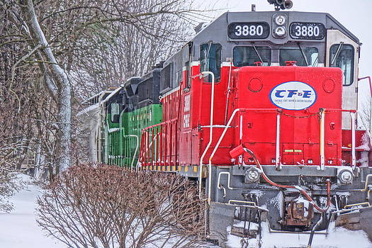 3880 In The Snow by Randy  Shellenbarger