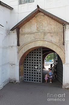 Ancient gate by Evgeny Pisarev