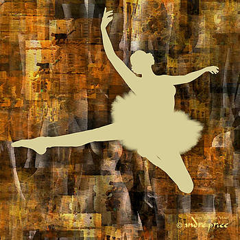 Ballerina Silhouette - Ballet Move 1 by Alfred Price