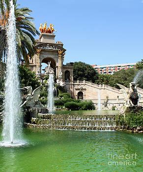 Gregory Dyer - Barcelona Spain - Dragon Fountain