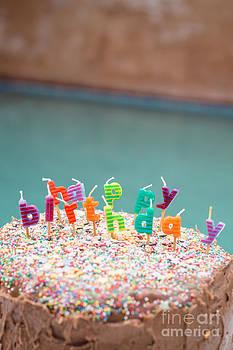 Birthday Cake For Childrens Birthday  by Gillian Vann