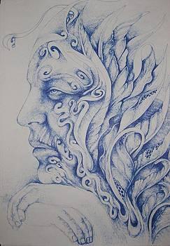 Blue by Moshfegh Rakhsha