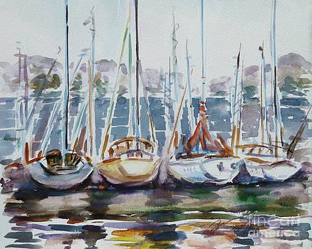 4 Boats by Xueling Zou