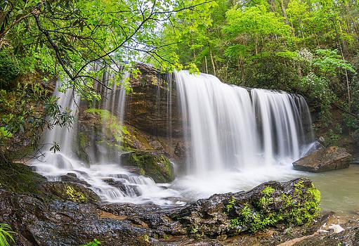 Brasstown Falls by Dustin Ahrens