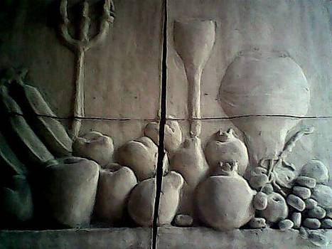 Clay Work by Hihani Gautam