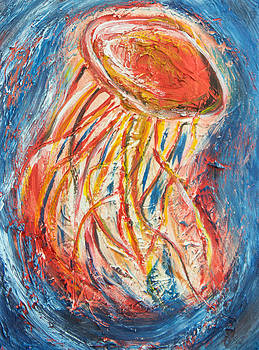 Dancing Jellyfish by Kenal Louis
