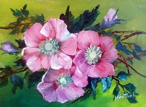 Flowers by Ibolya Marton