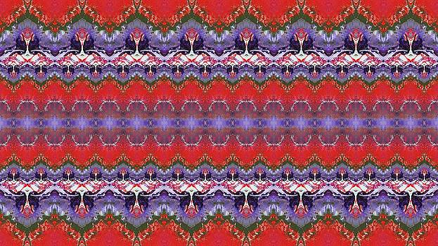 Folk Pattern by Julia Fine Art And Photography
