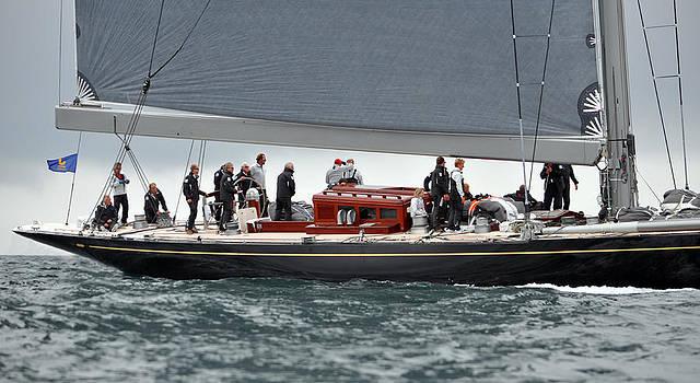Ian Cocklin - J Class Racing Yacht