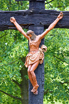 Jesus Christ crucifix by Borislav Marinic