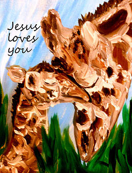 Jesus Loves you by Amanda Dinan