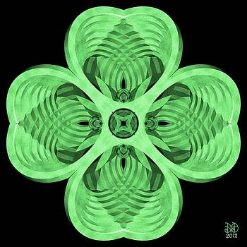 4 Leaf Clover by David Voutsinas