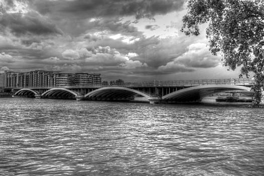 David French - London Thames Bridges BW