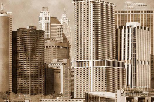 RicardMN Photography - Manhattan buildings vintage