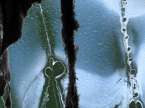 Old Broken Car Glass Martinsville Indiana 2008 by John Hanou