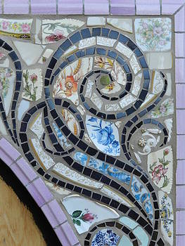 Charles Lucas - Oval Mosaic Frame