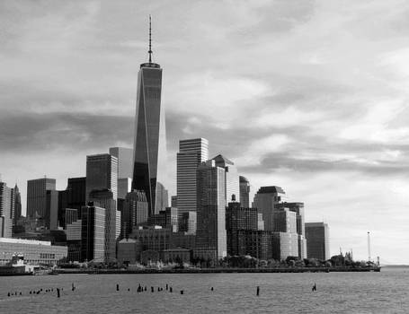 Scene @ NY by Jim McCullaugh