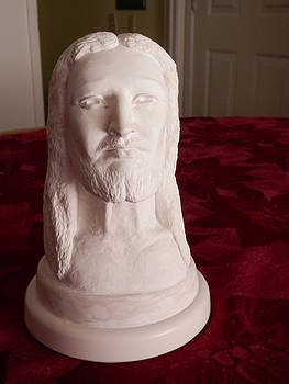 Sculpture of Christ by Lee Clark