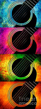Andee Design - 4 Seasons Guitars Vertical Panorama