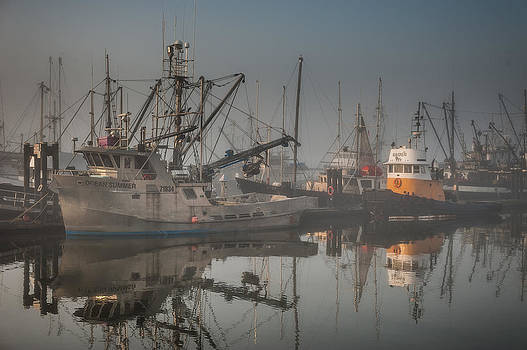 Steveston BC by Wesley Allen Shaw