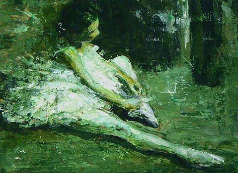 Chisho Maas - Study in Green
