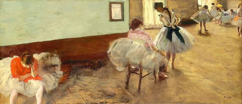 Edgar Degas - The Dance Lesson