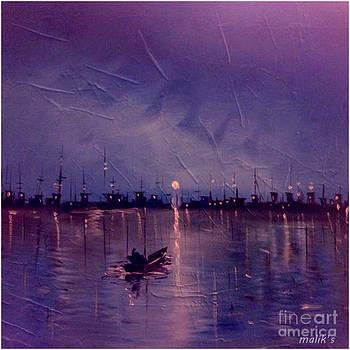 Torch on Sky. by Malik Tariq
