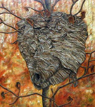 Wasp Nest by Elaine Booth-Kallweit